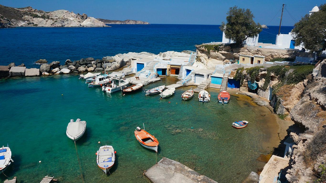 Viaje para Grécia com a Raidho