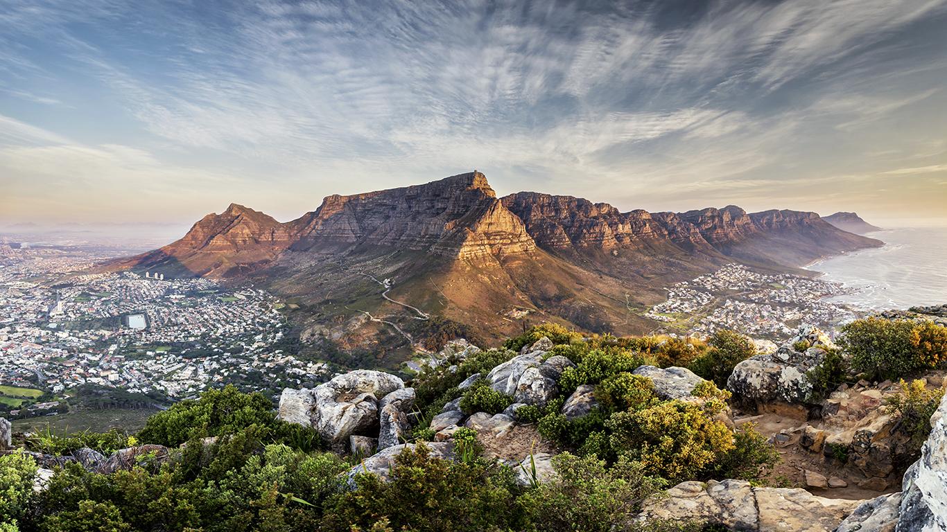A Romântica África do Sul?
