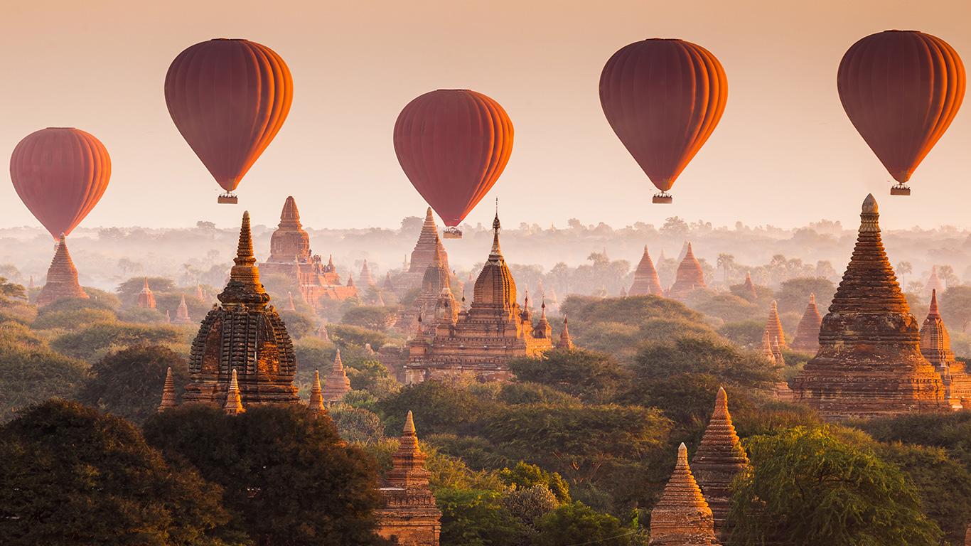 Myanmar, o tesouro recém-descoberto do sudeste asiático